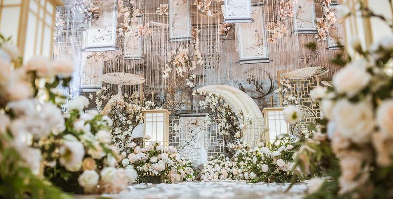 《桃花灼灼》——大爱婚礼